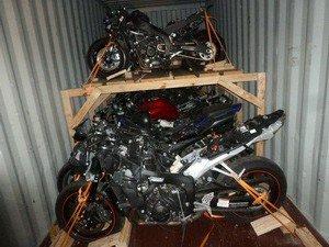 Доставка мотоцикла сборным грузом